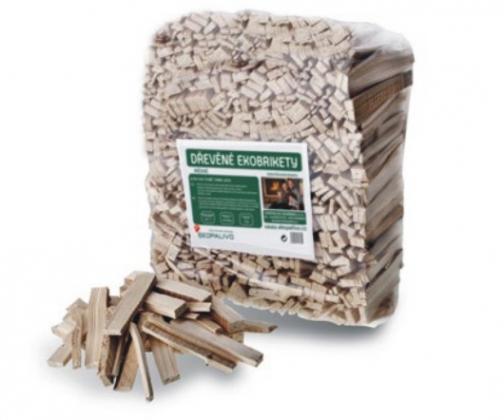 Podpalovací třísky - Třísky ze suchého smrkového dřeva.