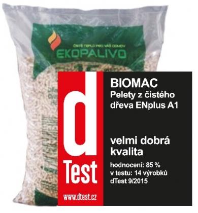 Dřevěné pelety - TOP - ø 6mm - Pelety nejvyšší kvality z čistého měkkého dřeva. Vyhovují normě ENplus A1